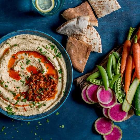 Hummus und Harissa