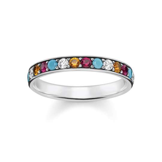 Thomas Sabo Ring bunt