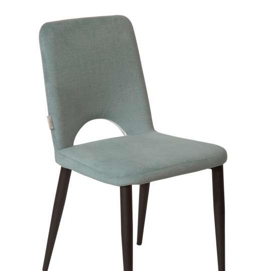 TOM TAILOR - Dining Nature & Mint - Velvet Chair