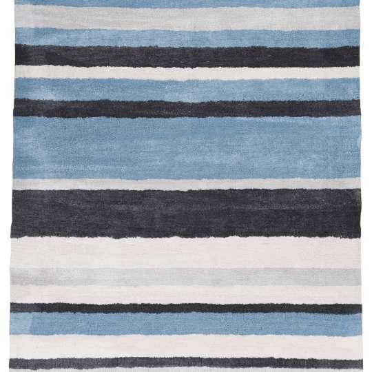 TOM TAILOR - Teppich POWDER Stripes - 705 blue multi