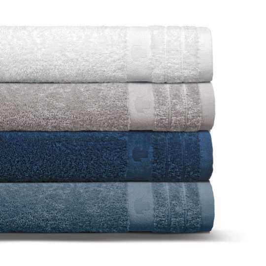 Tom Tailor UNI BASIC TOWEL / 4er_Duschtuchstapel_blau_HW18