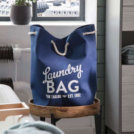 TOM TAILOR Laundry Bag Blue
