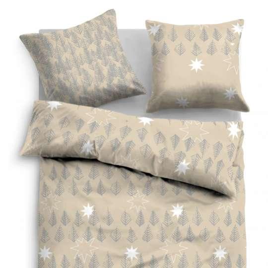 TOM TAILOR Linon Bed Linen beige