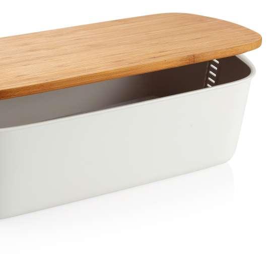 Tescoma: Brotbox mit Holzdeckel