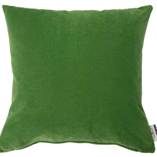 Tom Tailor Home Velvet Kissenhülle Doubleface grün