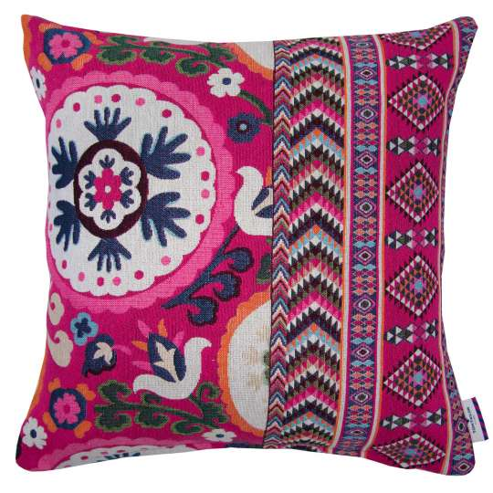 Tom Tailor Home Fantasy Ethno Kissenhülle pink/multi