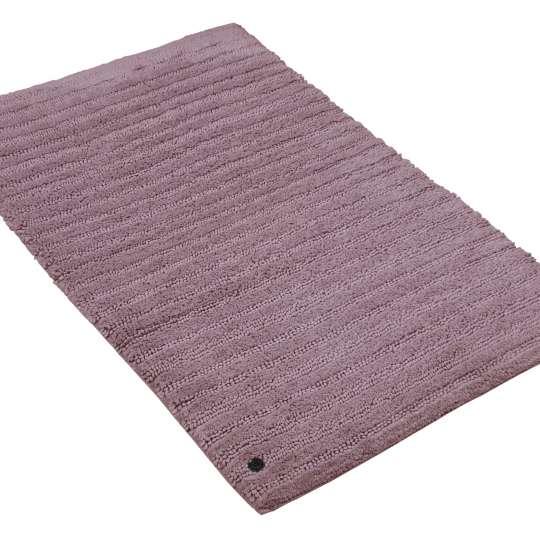 Tom Tailor Home Mauve Cotton Stripes Badteppich