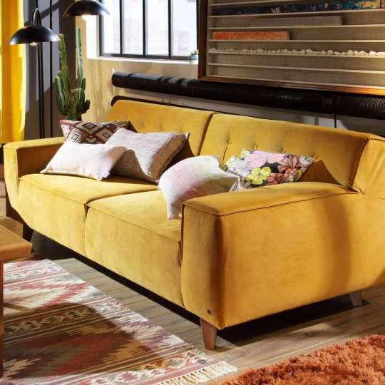 Tom Tailor Home Nordic Chic Retrosofa Ocre Milieu