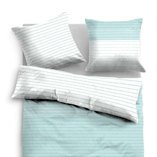 TOM TAILOR - Pure Pastels SATIN BED LINEN - 69902 / 842 mint