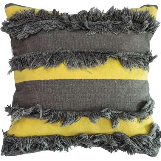 564985 - T-Fluffy Stripes Kissenhülle von Tom Tailor