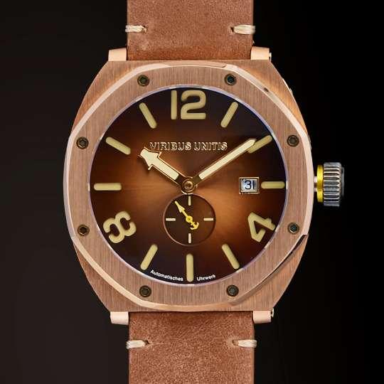 Bronze Watches - werthaltig und stylish! von VIRIBUS UNITIS