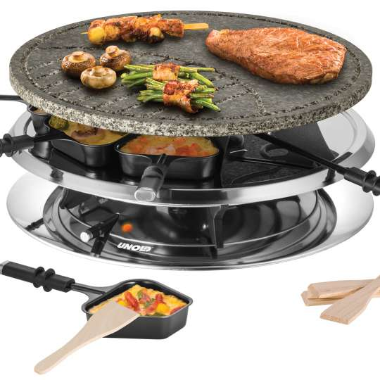UNOLD - 48726 - RACLETTE Multi 4 in 1 - 2