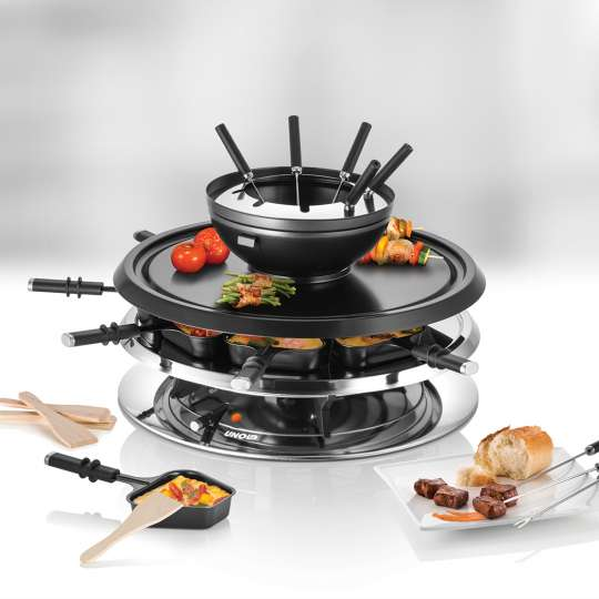 UNOLD - 48726 - RACLETTE Multi 4 in 1 - Mood