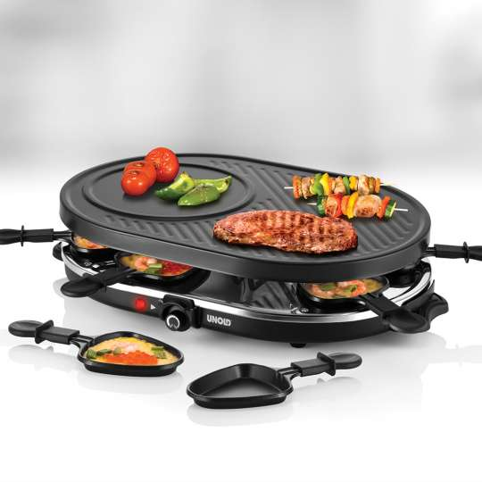 UNOLD - 48795 - RACLETTE Gourmet - mood