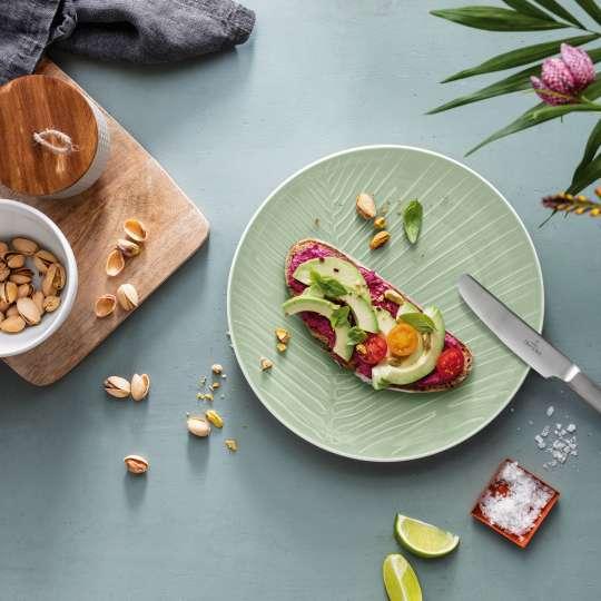 Villeroy und Boch -Liebe deine Zeit; elegantes Geschirr mit Snack