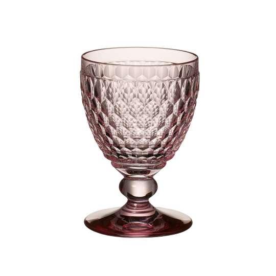Trinkglas aus hochwertigem Kristallglas in Rose von Villeroy & Boch