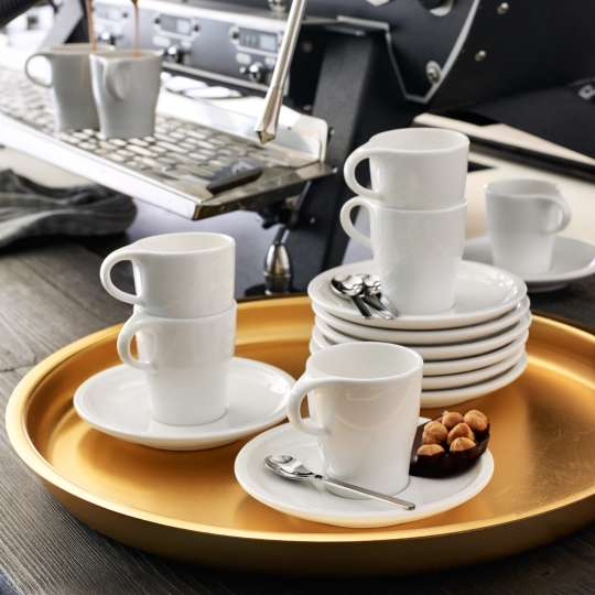 Villeroy und Boch Coffee Passion Kaffeetassen und Untertassen Milieu 2