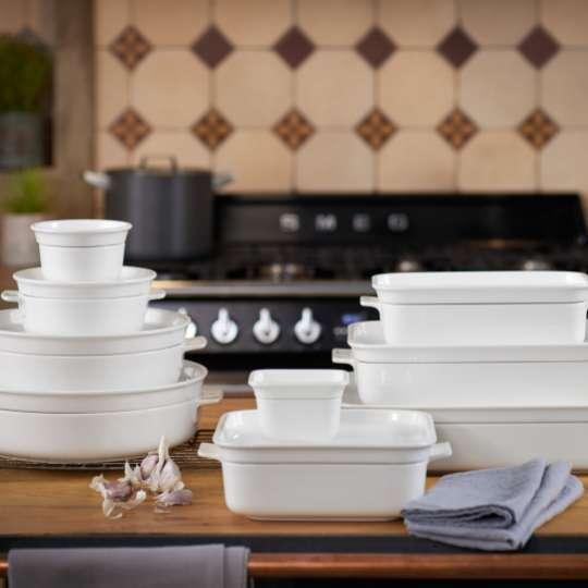 Villeroy und Boch Clever Cooking Auflaufformen gestapelt Milieu