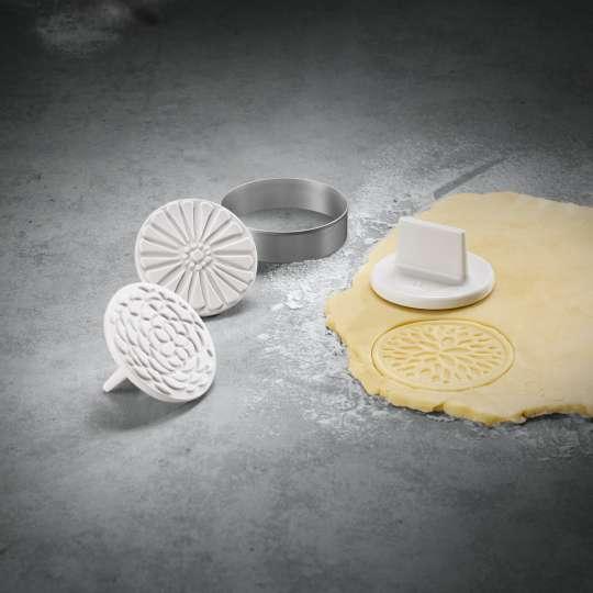 Villeroy und Boch Clever Baking Keksstempel mit Ausstecher Milieu