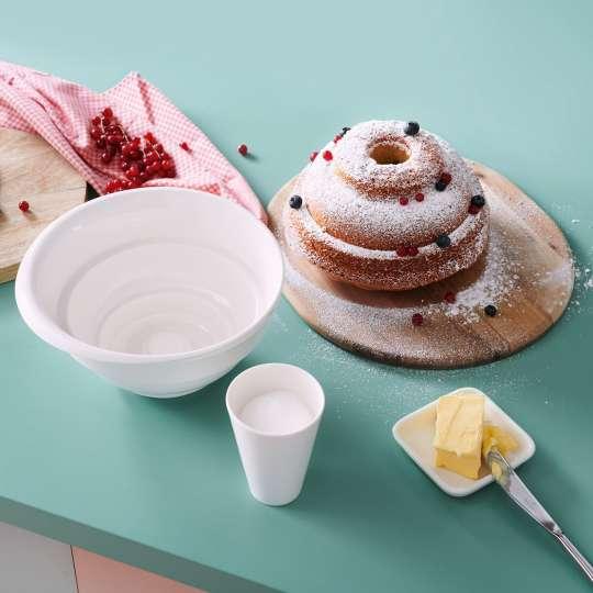 Villeroy und Boch Clever Baking Gugelhupfform mit Messbecher Milieu