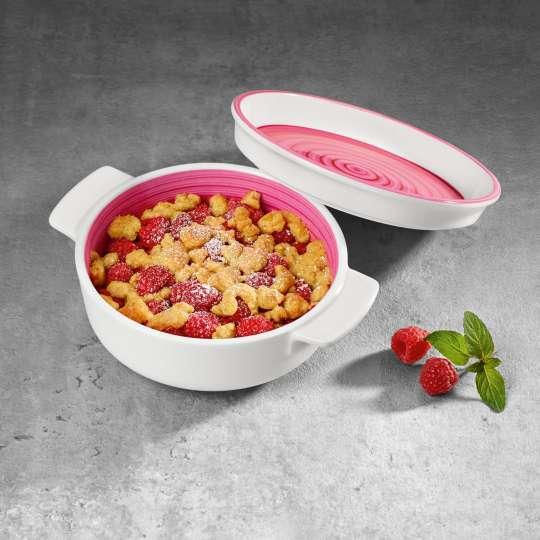 Villeroy und Boch Auflauf- und Ofenform pink Milieu