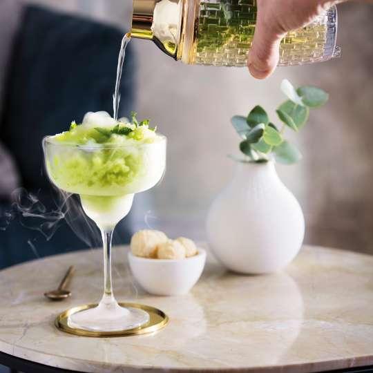 London-Mule Cocktail mit Cocktailshaker