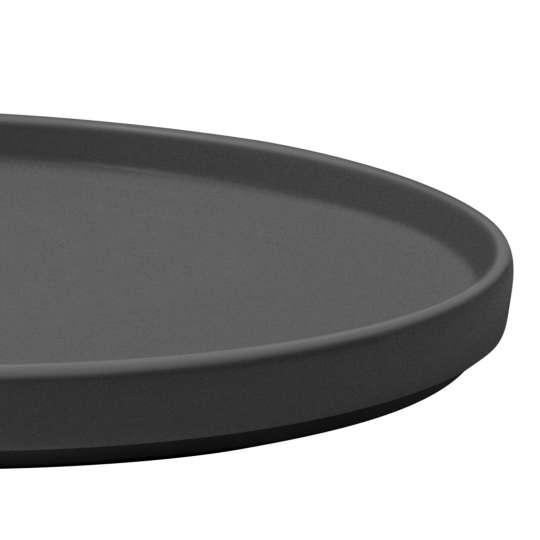Villeroy & Boch: La Boule black: Teller 1016656007 / Seitenansicht