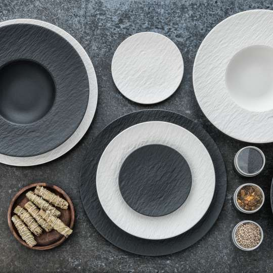 Villeroy und Boch The Rock Black Shale - The Rock White Glacier 14