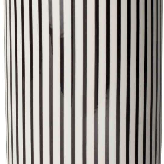 MetroChic Vase Streifenmuster