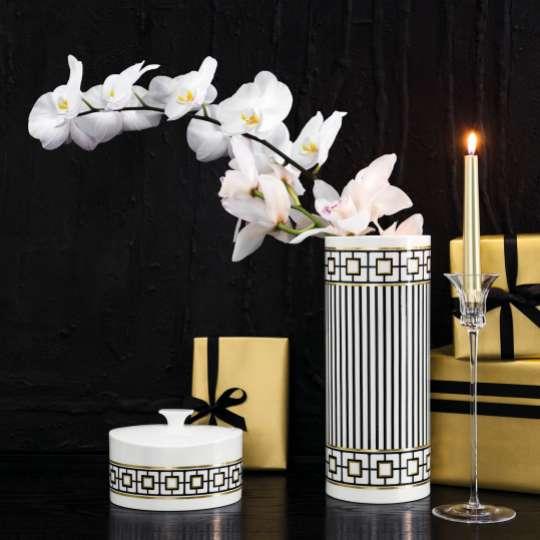 MetroChic Vase mit Orchidee
