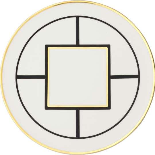 MetroChic Eßteller geometrisches Muster
