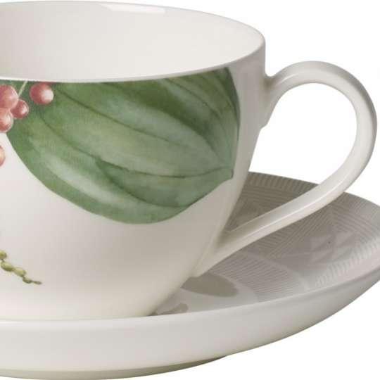 Malindi Kaffeetasse mit Pfeffer-, Nelken- und Ingwerpflanzen 1043831290