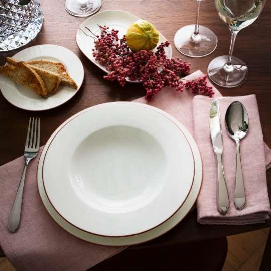 Anmut Rosewood gedeckter Tisch Milieu