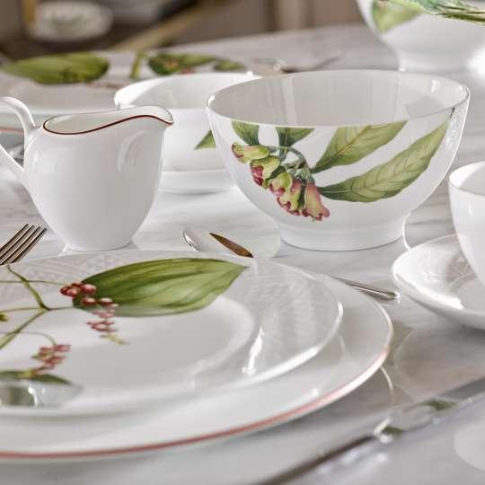 Malindi Anmut Rosewood gedeckter Tisch Milieu