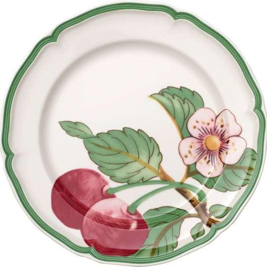 French-Garden 1042472621 Frühstücksteller Kirschen