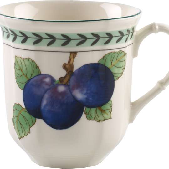 French-Garden 1042474852 Kaffeetasse Pflaumen