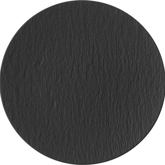 Villeroy & Boch - Manufacture Rock - Platzteller schwarz 1042392590