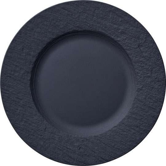 Villeroy & Boch - Manufacture Rock - Speiseteller schwarz 1042392640