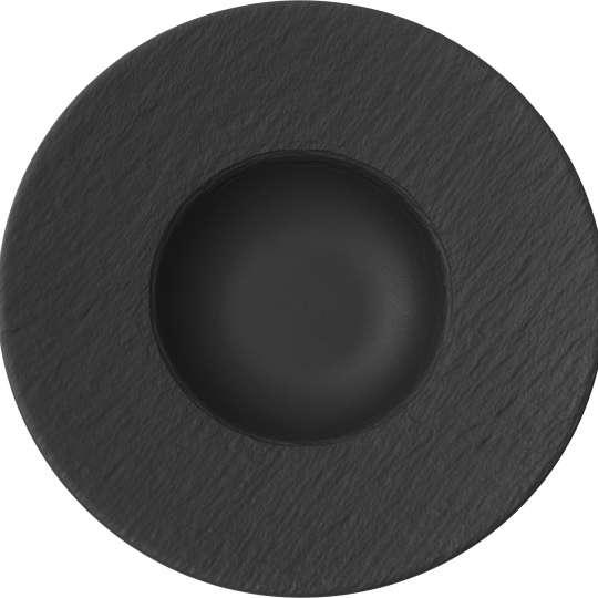 Villeroy & Boch - Manufacture Rock - Teller schwarz 1042392790