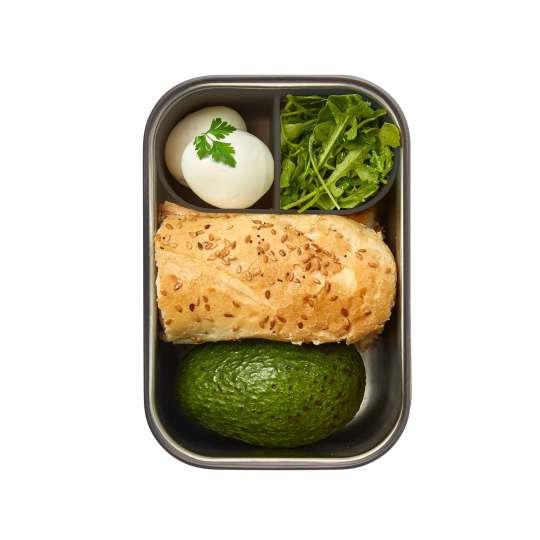 black+blum Sandwichbox 1250ml gefüllt