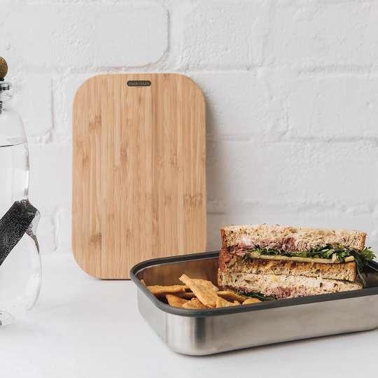 black+blum sandwichbox mit Wasserflasche