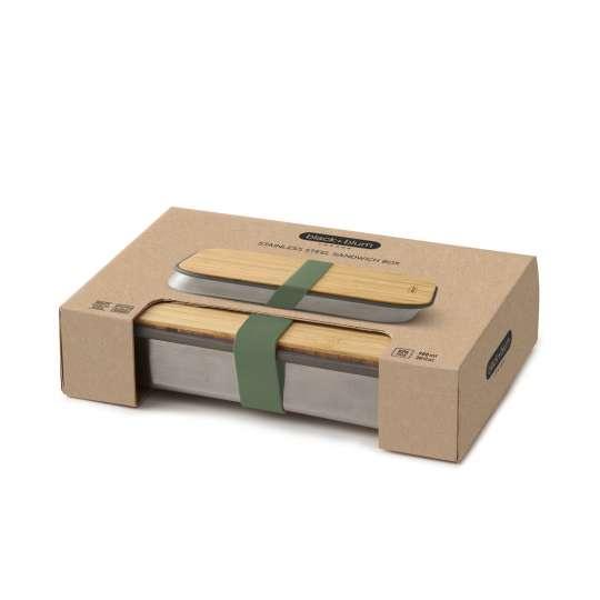 black+blum Sandwichbox mit Verpackung