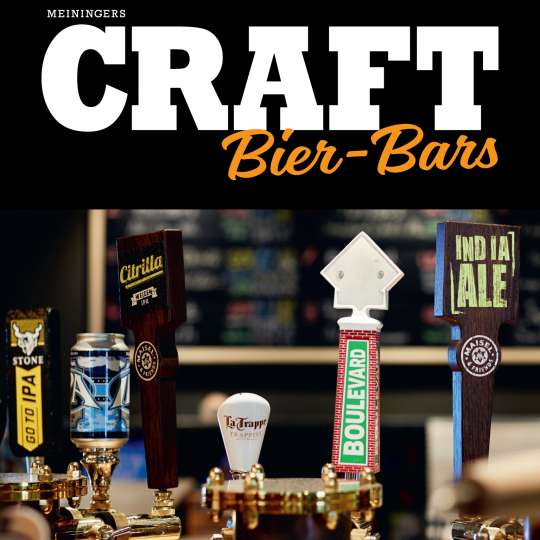 Meiningers CRAFT Bier-Bars