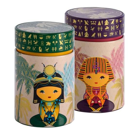 Eigenart: Teedosen Dekor 'Little Egypt'