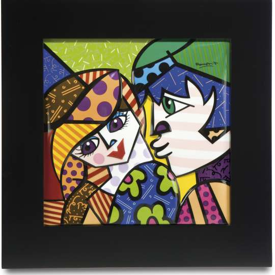 Goebel Pop Art Romero Britto Reliefbild Delicious_Freisteller