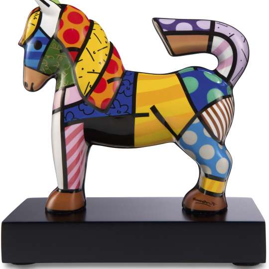 Goebel Pop Art Romero Britto Figur Dancer_Freisteller