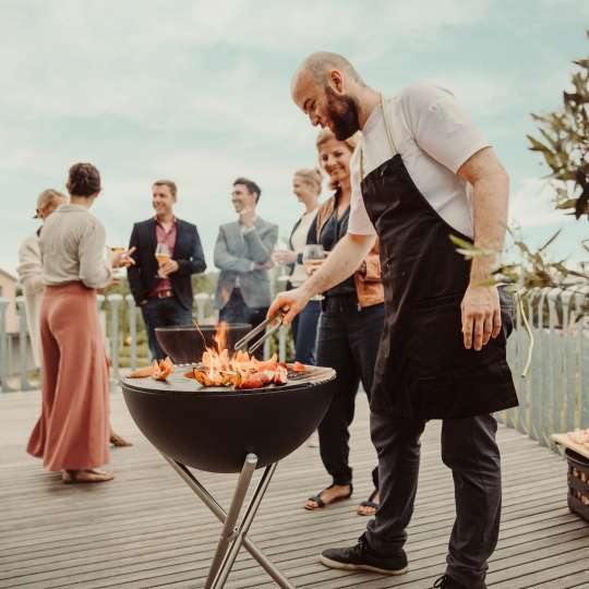 Grillparty mit Höfats