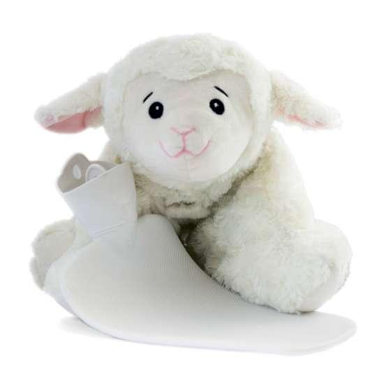 Hugo Frosch  0450 Klassik Wärmflasche Kuscheltier Schaf