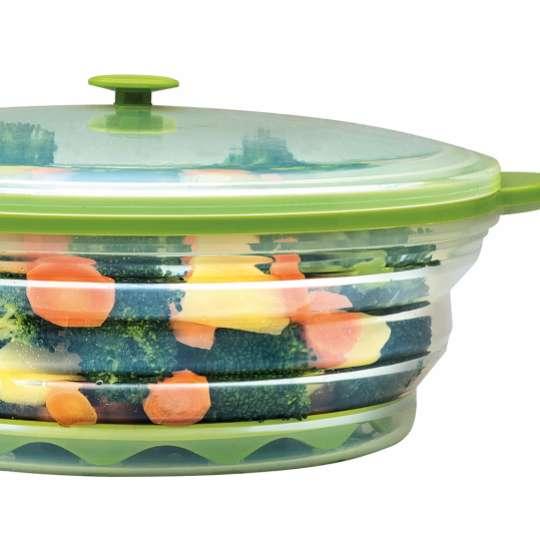iSi Flexline Frischebox Gemüse Dampfgarer