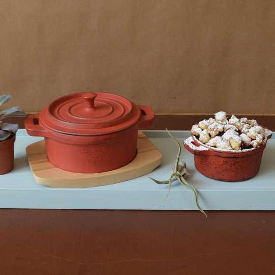 JA-UNENDLICH: Cocottes aus Gusseisen